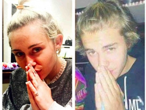 Lookylikeys: Whoa, were Justin Bieber and Miley Cyrus separated at birth?