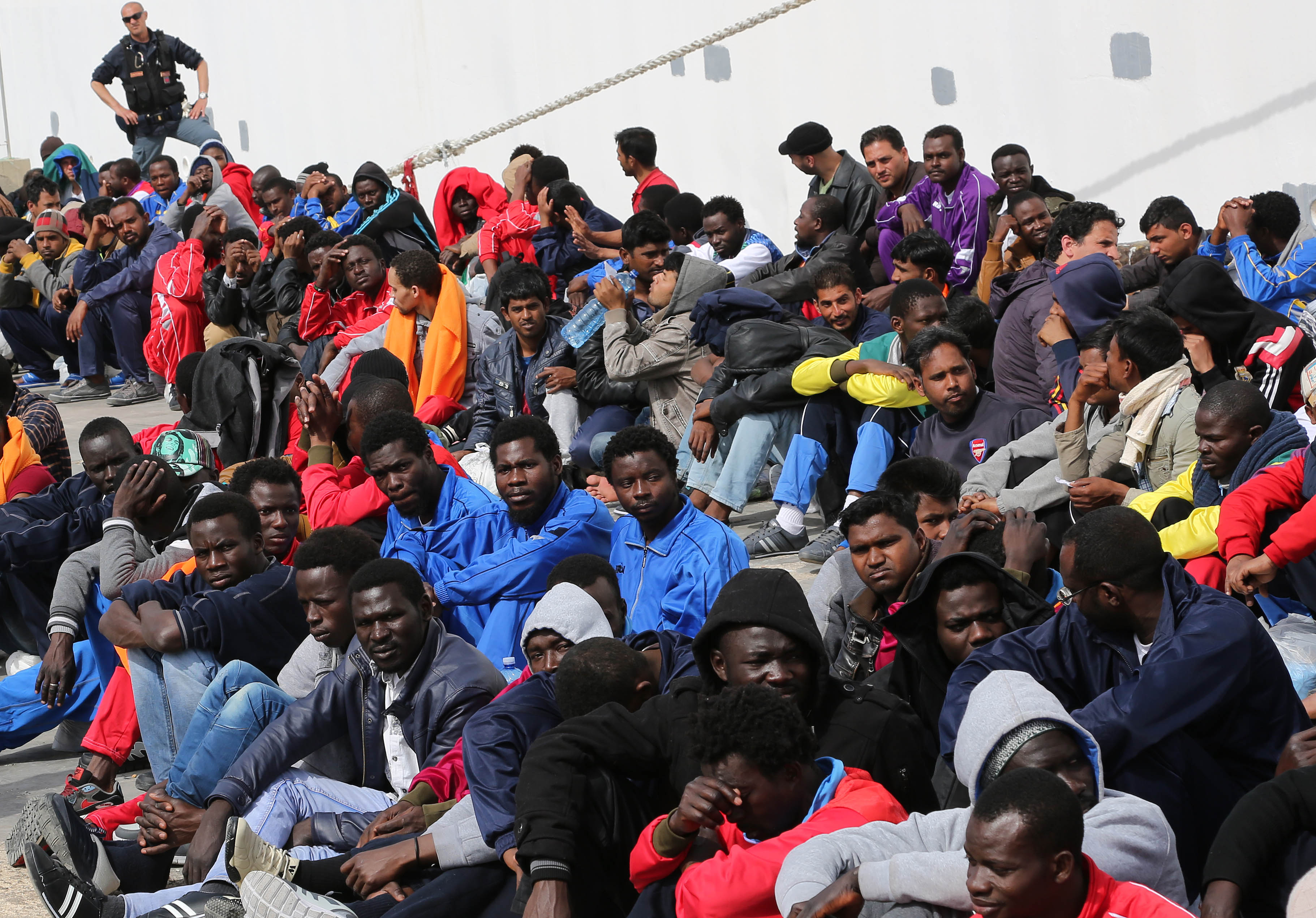 Muslim migrants 'threw 12 Christians overboard' because they wouldn't stop praying