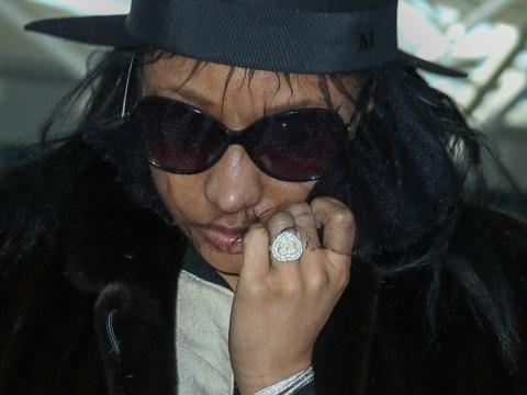 I've got that super bling! Nicki Minaj shows off her huge 'engagement' ring