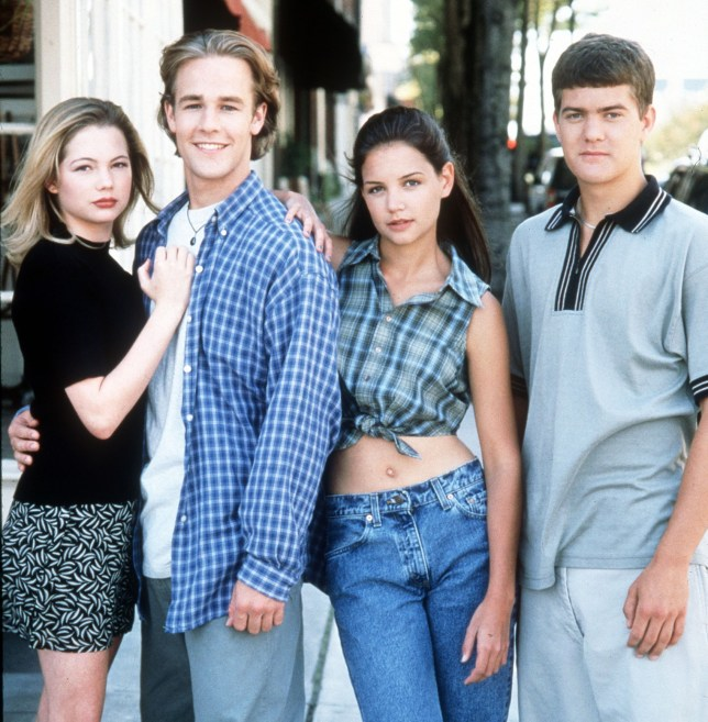 The Dawson's Creek gang (Picture: Channel 4)