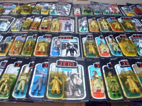 Hundreds of extremely valuable collectible toys are found in abandoned shop