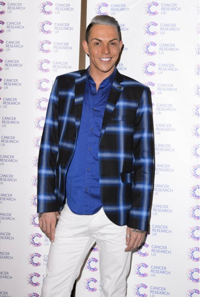 Mandatory Credit: Photo by Hordle/REX Shutterstock (4627339x)  Bobby Norris  James Ingham's Jog on to Cancer Event, London Britain - 09 Apr 2015