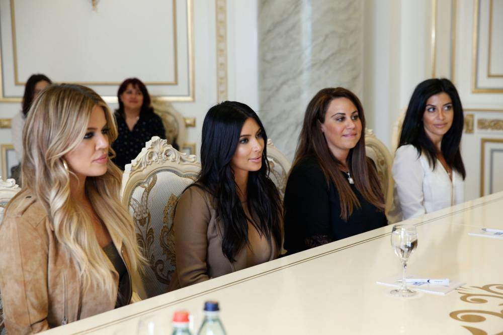 Kim Kardashian wants you to know that she really cares about genocide as she meets with Armenian PM