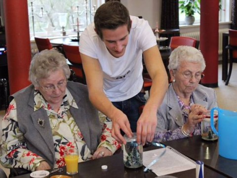 Cash-strapped students given rent-free accommodation in nursing home – if they hang out with pensioners