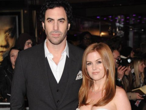 Sacha Baron Cohen and Isla Fisher name baby boy Montgomery Moses Brian