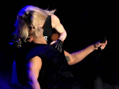 Madonna gives her take on that Drake Coachella kiss: 'I kissed a girl and I liked it!'