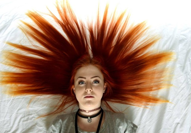 PIC FROM CATERS NEWS - (PICTURED: Emily Reay) - A talented teenage musician has been banned from school  for being GINGER. Emily Reay has been barred from class just two months before her A-level exams until she dyes her hair a more natural colour. The pretty 17-year-old has sported the same vibrant locks for the last three years, but on her return to Trinity School in Carlisle, Cumbria, after Easter, the school decided the colour was inappropriate. Devastated Emily, who is naturally auburn, has now been told she cannot return to lessons until she changes her appearance. SEE CATERS COPY.