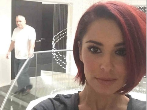 Cheryl Cole goes back to her roots with bright red hair