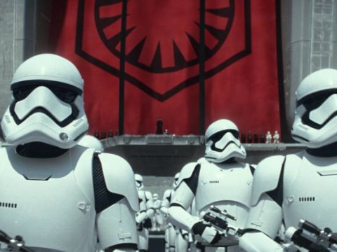 New Stormtroopers in Star Wars: The Force Awakens inspired by Apple