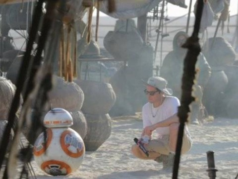 9 incredible behind-the-scenes photos from Star Wars: The Force Awakens