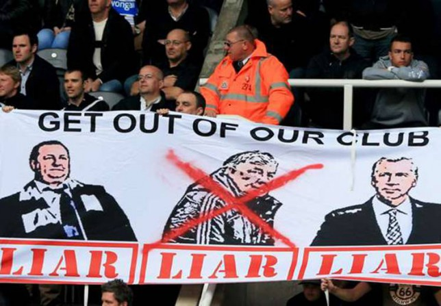 A Newcastle United supporters' group has finalised plans to boycott Sunday's Premier League fixture with Tottenham at St James' Park. The group, known as AshleyOut.com, have been quick to back the planned protest against owner Mike Ashley that has snowballed on Twitter in recent weeks.