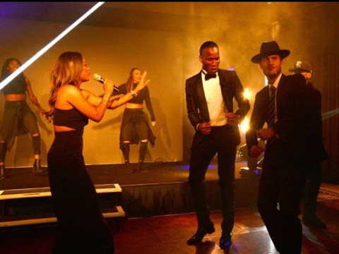 Watch Chelsea duo Eden Hazard and Didier Drogba dance with singer Christina Milian at charity event