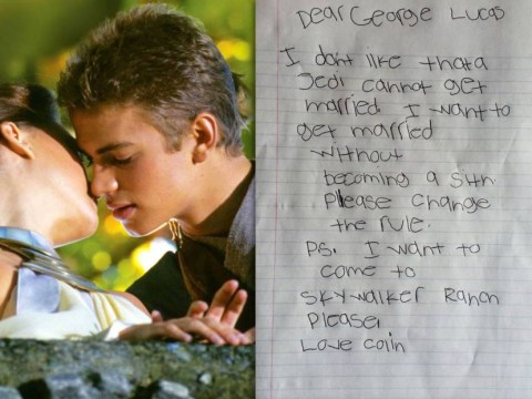 7-year-old Star Wars fans asks George Lucas to let Jedis marry – and actually gets a response
