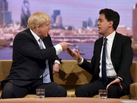 Boris Johnson vs Ed Miliband: a fiery face-off on The Andrew Marr show