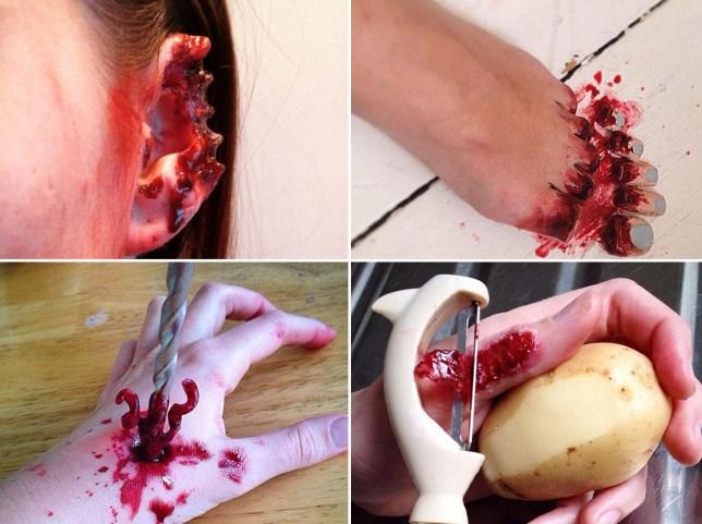AGC SFX Make Up Artist horror make up Copyright: Abi Gordon-Cody