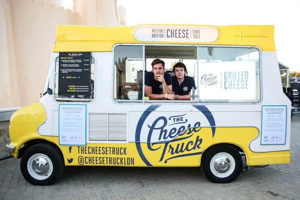 Say cheese! (Picture: twitter.com/thecheesetruck)