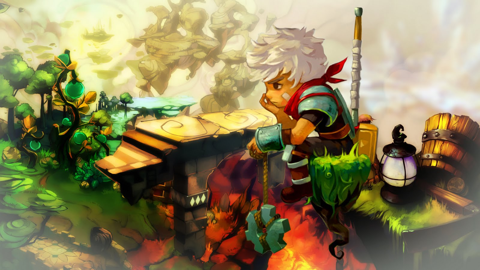 Bastion Xbox One review – story of your life