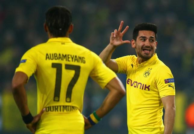 Ilkay Gundogan's current deal at Borussia Dortmund expires in 2016