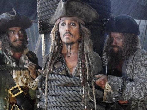 Jack Sparrow is back! Here's your first look at Johnny Depp in Pirates Of The Caribbean 5