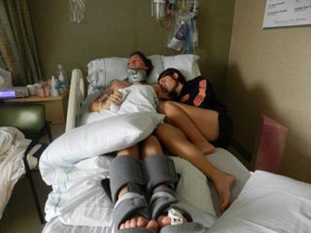 Woman refused to take her husband off life support – then he came out of his coma