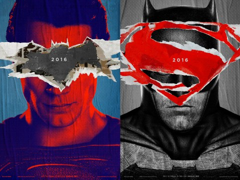 These new Batman v Superman: Dawn of Justice poster are just so cool