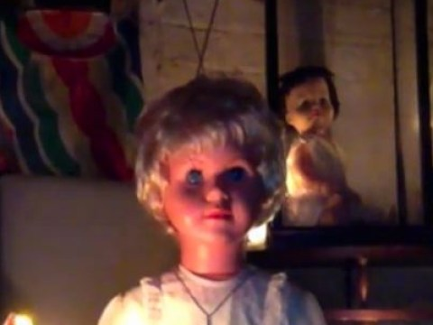 This video of a creepy doll is said to give you headaches, chest pains and nausea