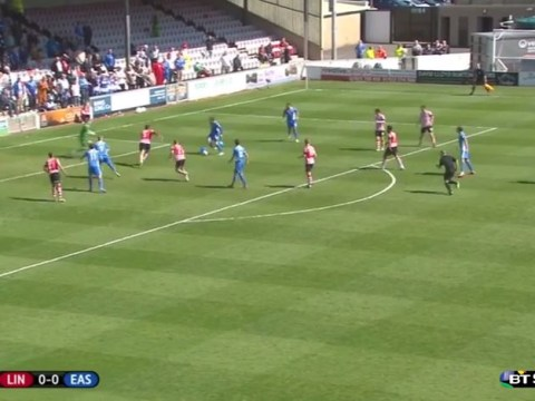 Conference side Eastleigh put on Barcelona tiki-taka show to score brilliant team goal v Lincoln City