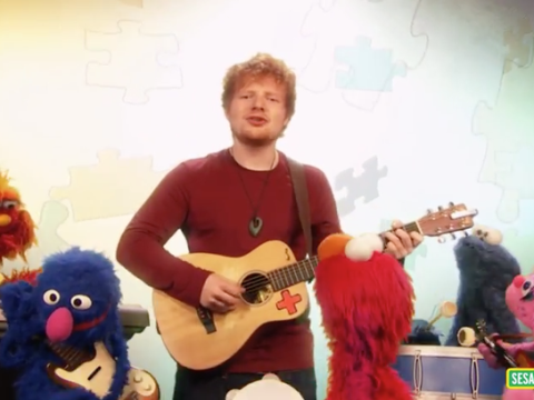 Ed Sheeran and Sesame Street is the collaboration you never knew you wanted