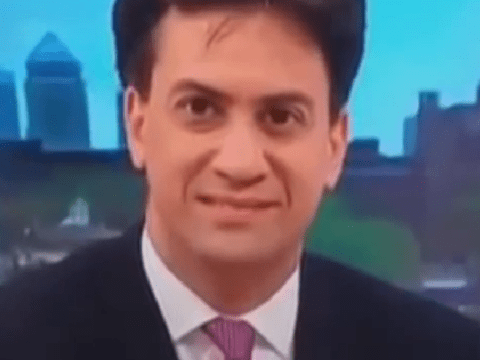 Ed Miliband trying to look sexy to George Michael's Careless Whisper may be the best Vine of all time