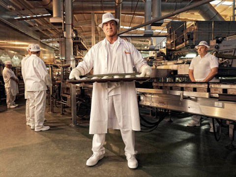 'Sylvester Stallone is a natural in a bread truck': Actor stars in new action-packed advert – for bread