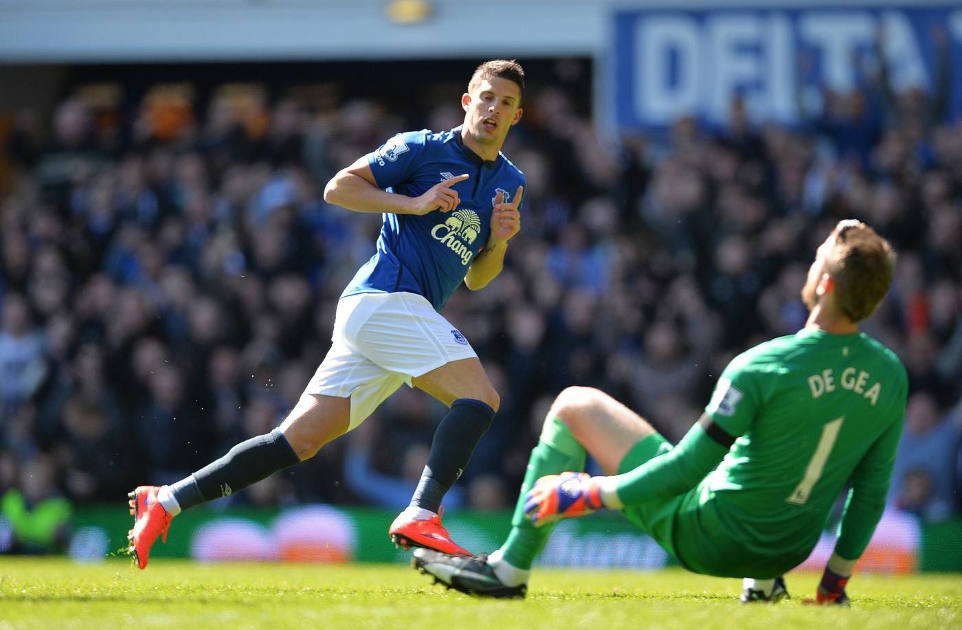 Kevin Mirallas reassures Everton fans he doesn't want to leave Goodison Park in summer transfer window