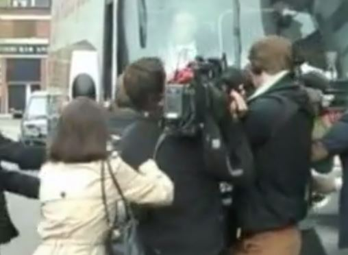 Did a Labour press officer really pull a BBC cameraman to the floor?