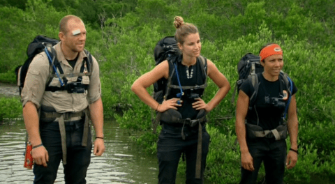 Everyone nearly died in the Bear Grylls' Mission Survive final, but Vogue Williams still managed to win