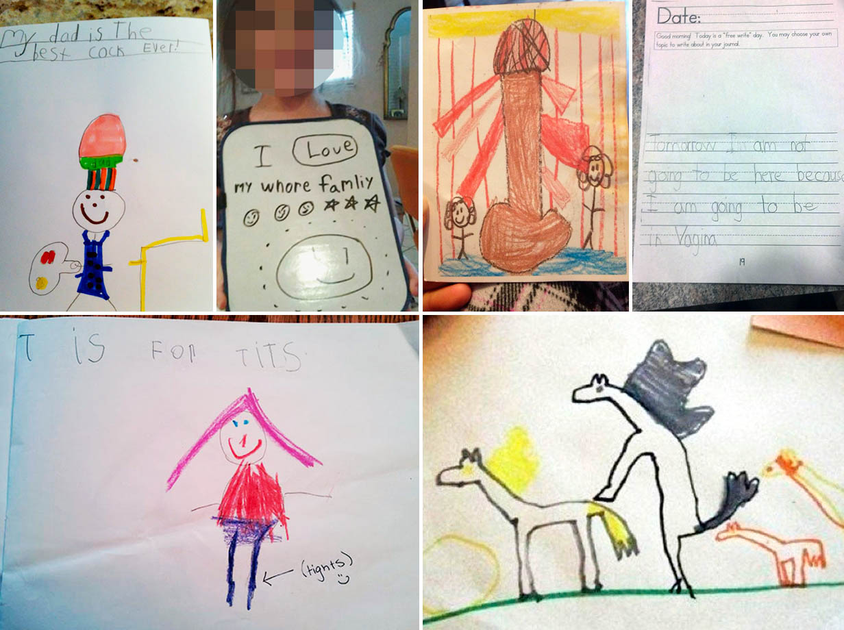 funny children drawings fail
