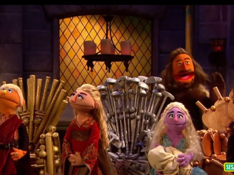 Sesame Street parodies Game of Thrones and it's adorable