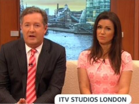 Piers Morgan left riled after Good Morning Britain gun debate