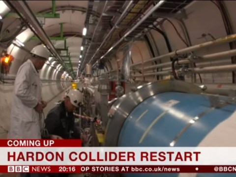 That awkward moment the BBC calls Large Hadron Collider 'Hardon Collider'