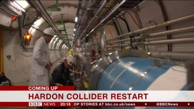hardon collider, bbc news, hadron collider