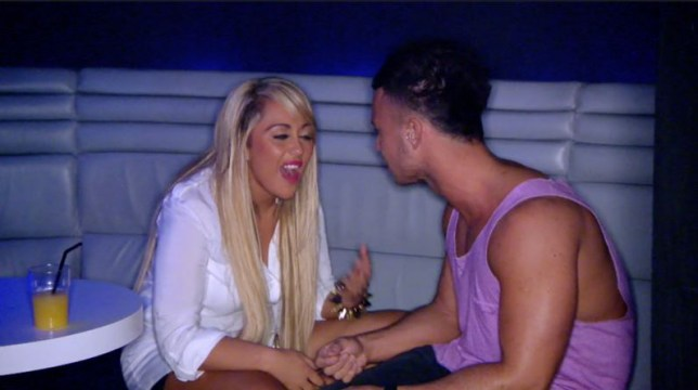Sophie Kasaei and Joel Corry Geordie Shore (Picture: MTV)