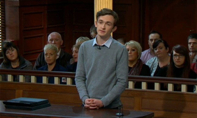 Judge Rinder Luke Marsden