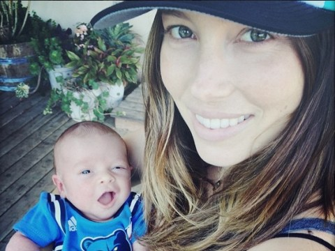 Justin Timberlake and Jessica Biel share first pic of their son Silas