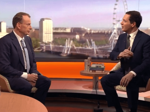 George Osborne fails to answer question 18 times in excruciating interview