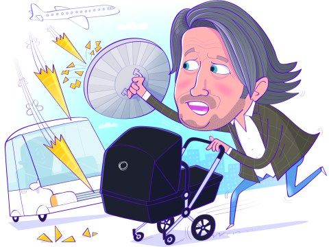 Richard Herring: slings and arrows of being a new dad