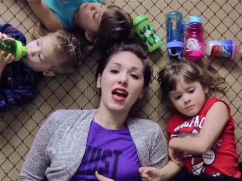 Miley Cyrus parody explains why woman is addicted to having babies