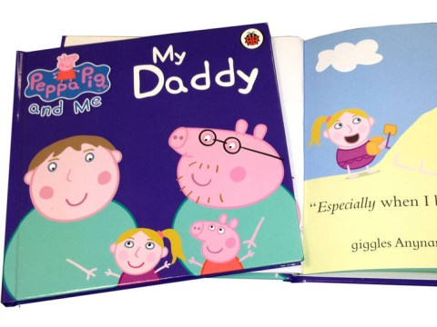 You and your child can star in Peppa Pig thanks to these books