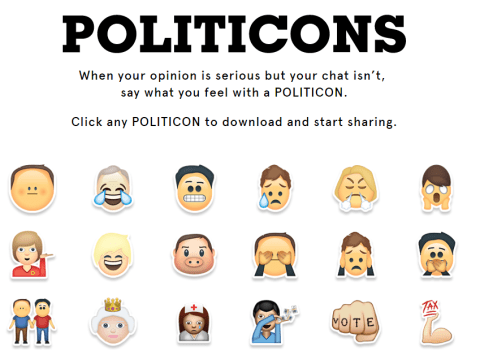 These political emojis are essential for any election tweets