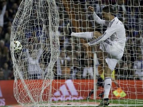 Cristiano Ronaldo slammed after appearing to react angrily to Alvaro Arbeloa's Real Madrid goal v Almeria