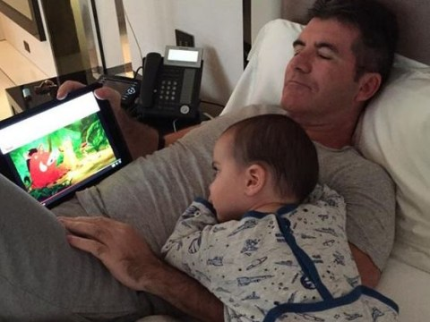 Further proof that Simon Cowell and baby Eric are just the cutest pair