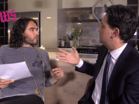 This is what happened in Russell Brand's interview with Ed Miliband