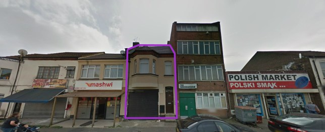 Ukip's unlikely offices at their offices in Luton (Picture: Google Street View)